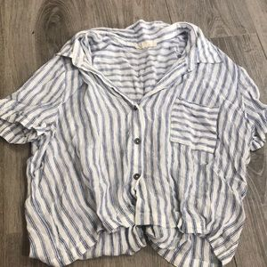 PacSun Tops - Passim striped button up shirt